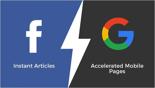 Facebook Instant Articles vs Google AMP