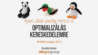 Optimalizálás kereskedelemre - Mobile Hungary 2014 előadás