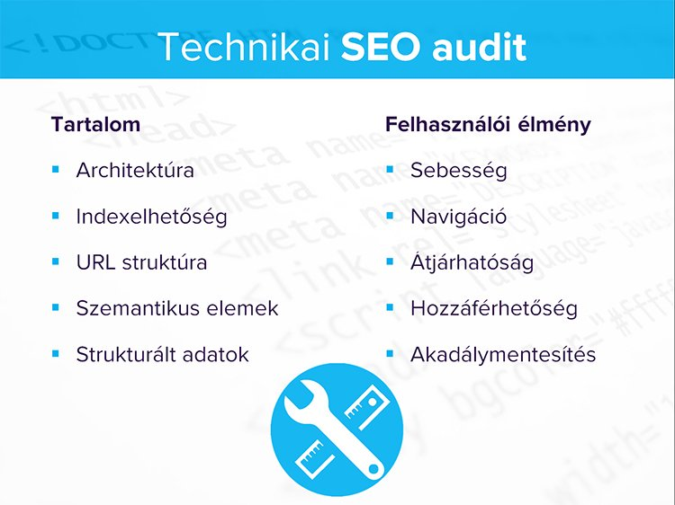 Technikai SEO audit